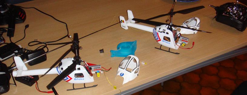 Helicoptervliegen - vergadering 1